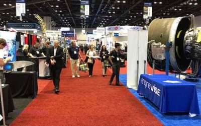 Dretloh at the MRO Americas 2017 Conference in Orlando, Florida
