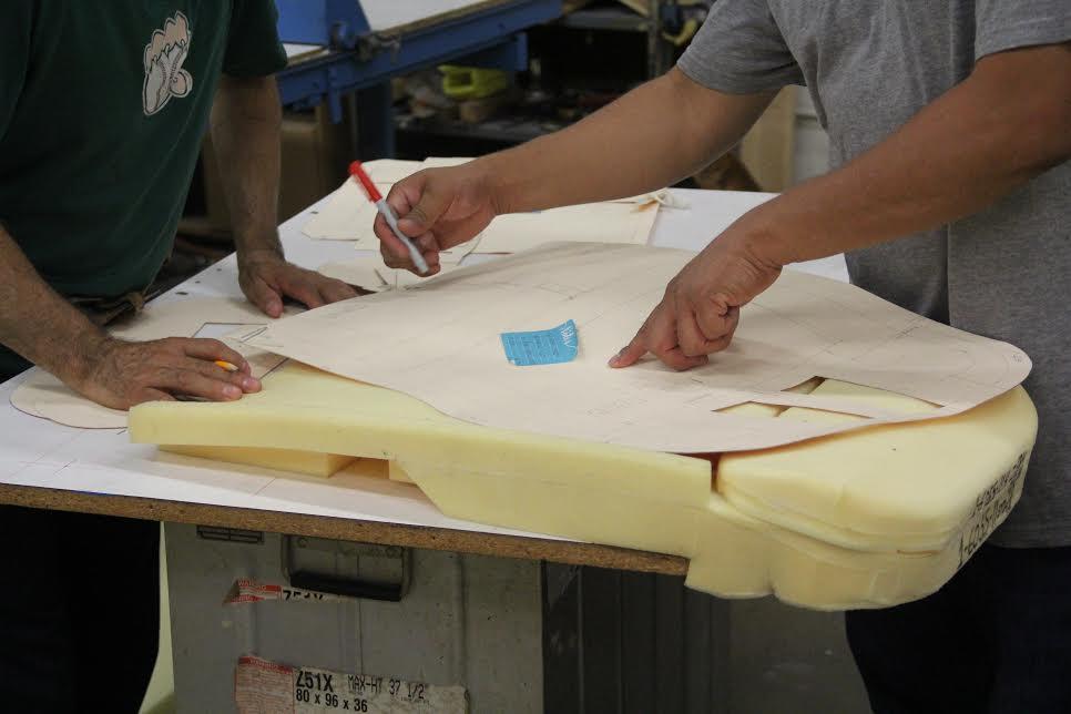 How to Design Aircraft Seat Foam   Dretloh Aircraft & Supply