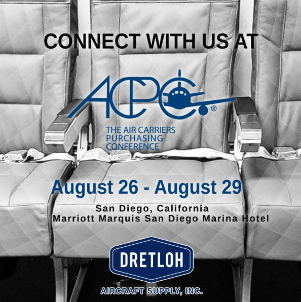 Dretloh Will be Attending the ACPC in San Diego August 26-29